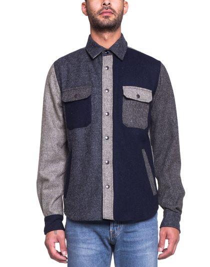 Zippy Shirt Mixed Wool