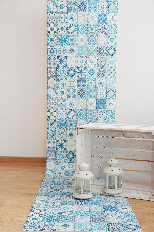 Tapeta Winylowa Kafelki Mozaika Tapety ścienne Walls In