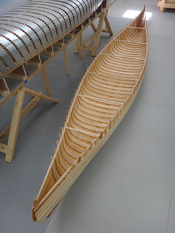 каркас лодки из реек фото муз-тв