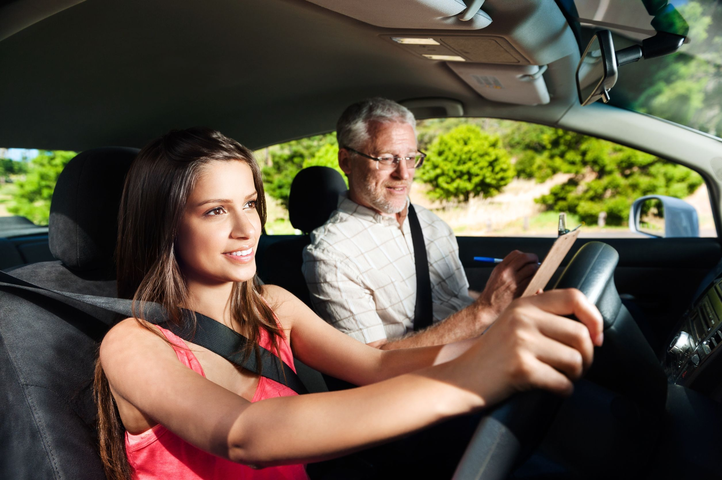 Encourage Someone Trying To Get A Driver S Permit Driving School