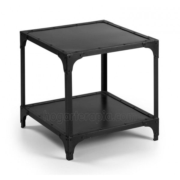 Mesa auxiliar MAHAN de la colección vintage fabricada en hierro ...
