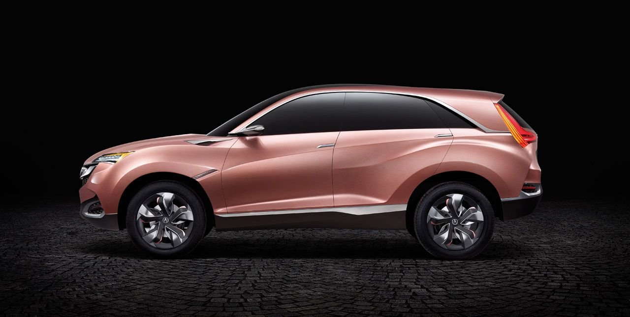 What Small Suv Comes In Pink Acura Concept X Photo Gallery Autoblog