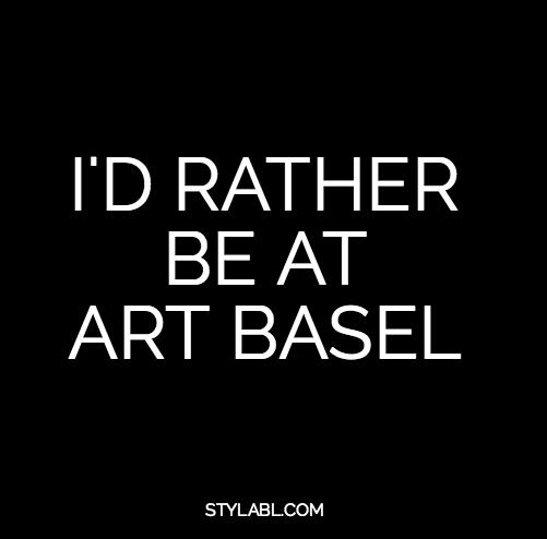 ART BASEL Art basel, Words, Art