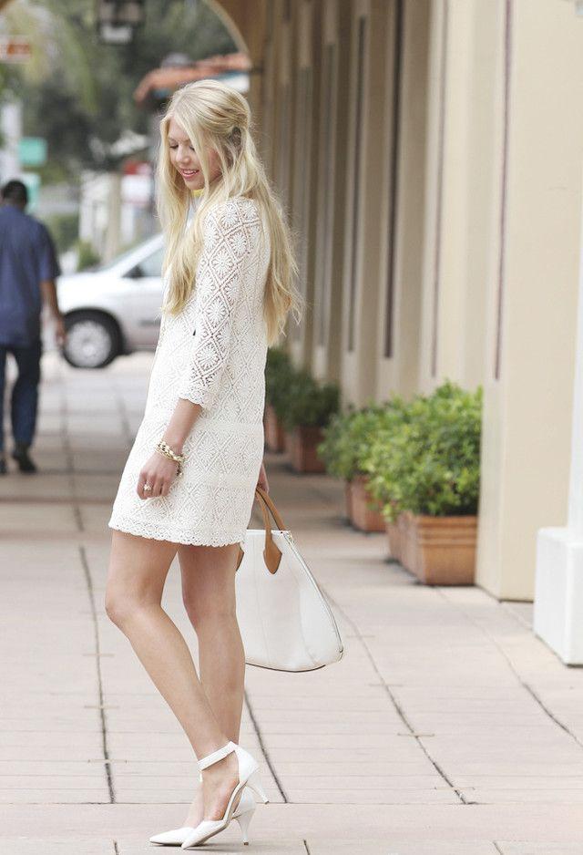 edbe5d25d6  roressclothes closet ideas  women fashion Lovely White Dress Outfit Idea