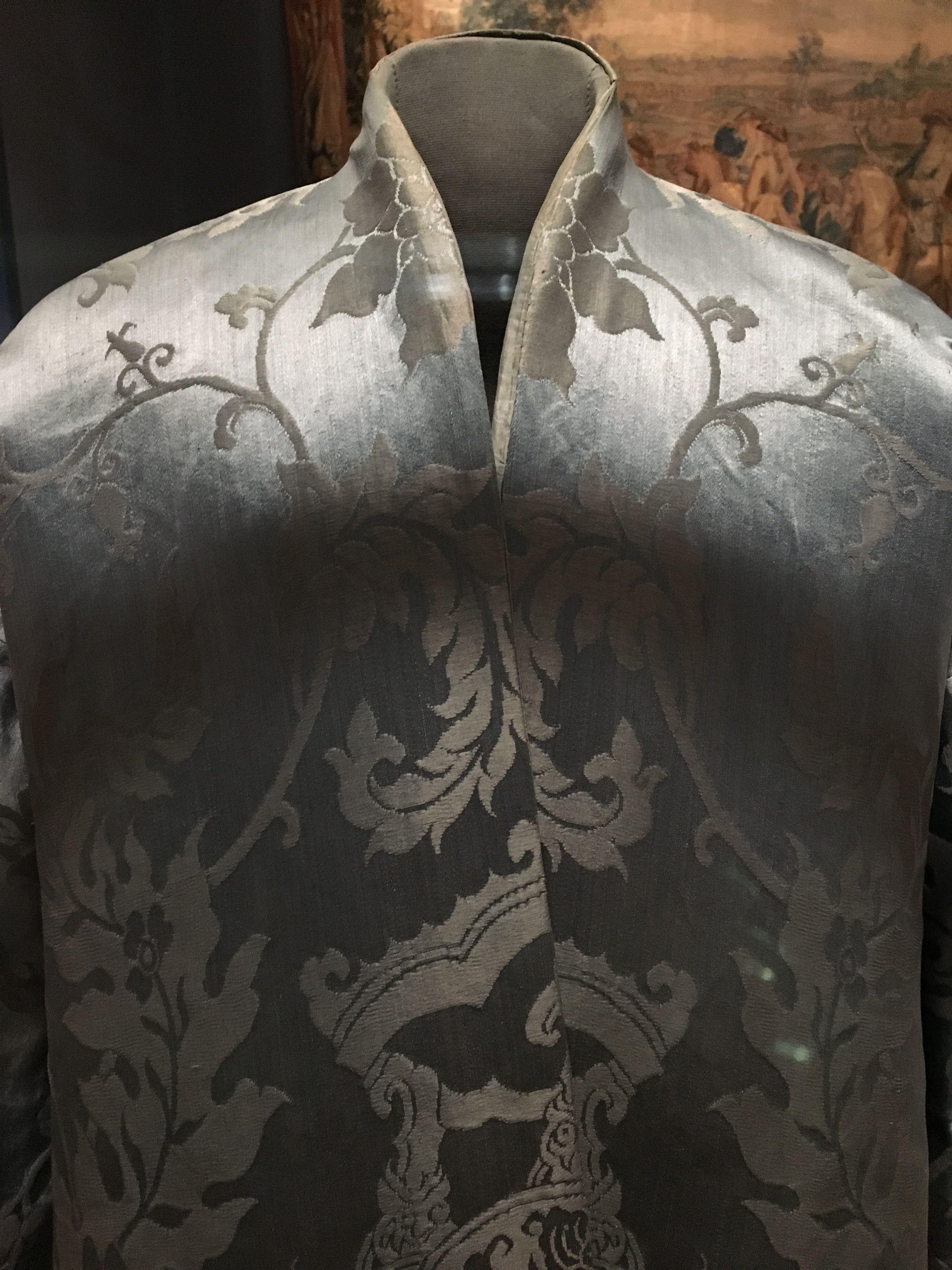 Detail of banyan silk fabric th th century dress