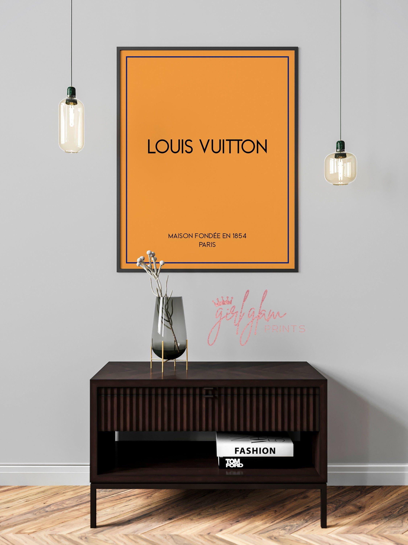 Louis Vuitton Print, Louis Vuitton Wall Art, Louis Vuitton Poster, LV Bag Print, Fashion