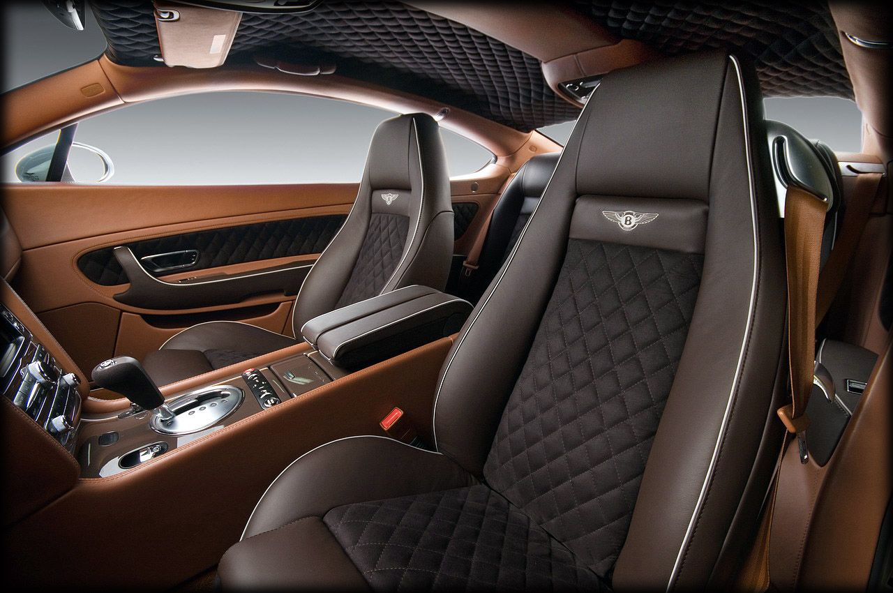 Perfect Custom Interior Car Designs With 2012 Bentley Continental By Vilner Studio Design