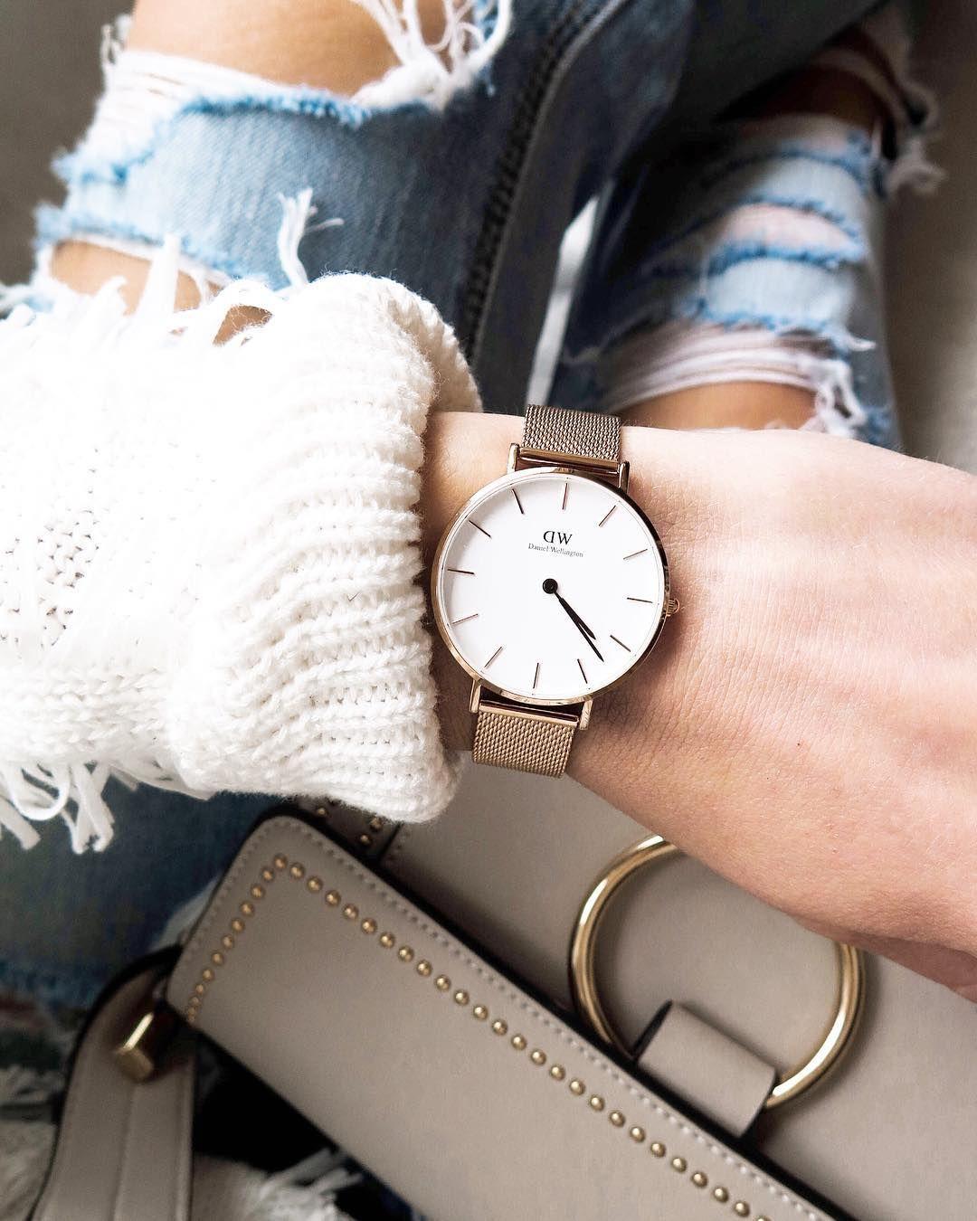 aea106e81f1 daniel wellington watch   • Fashion•Bloggers•We•Love •   Watches ...