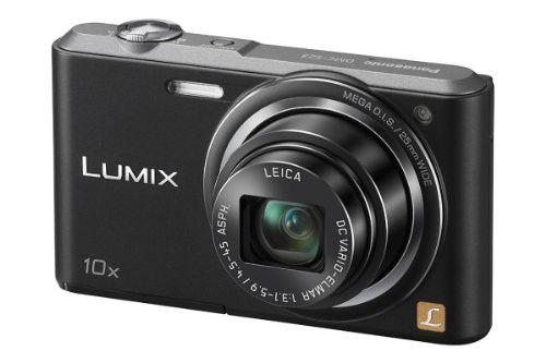 Panasonic Lumix DMC-SZ3 16.1 MP Compact Digital Camera with20x Intelligent Zoom (Black, Violet & White)