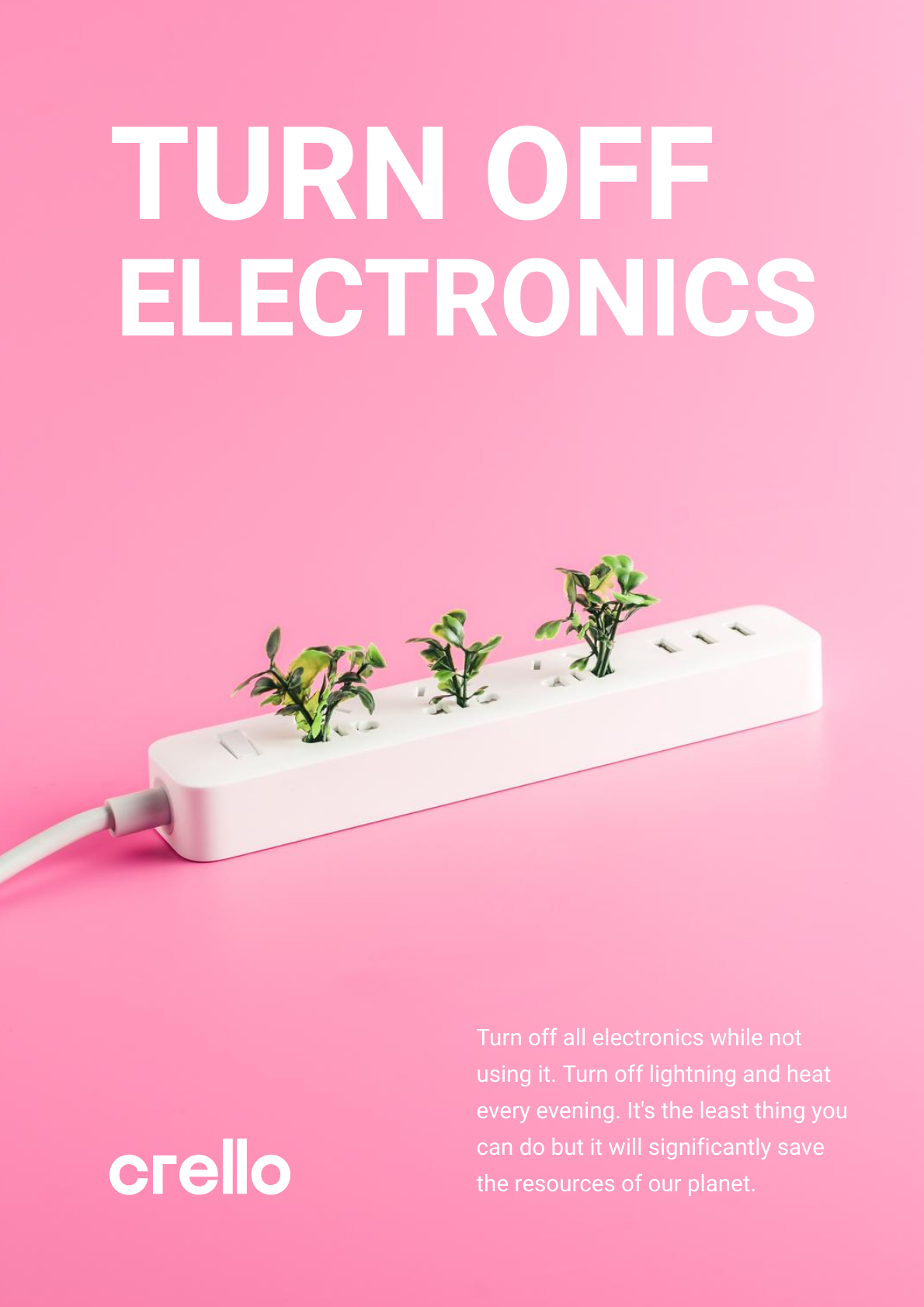 Turn Off Electronics Poster Electronics Poster Environmental Posters Abstract Pattern Design