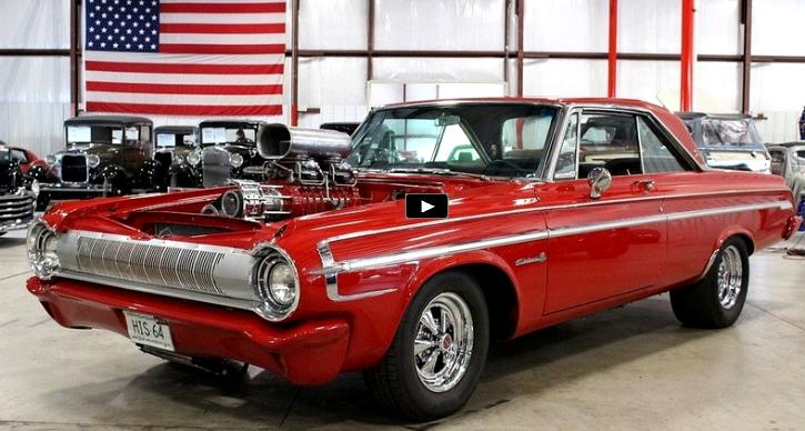 Beefed Up Red 1964 Dodge Polara 500 In Details | Mopar | Carritos