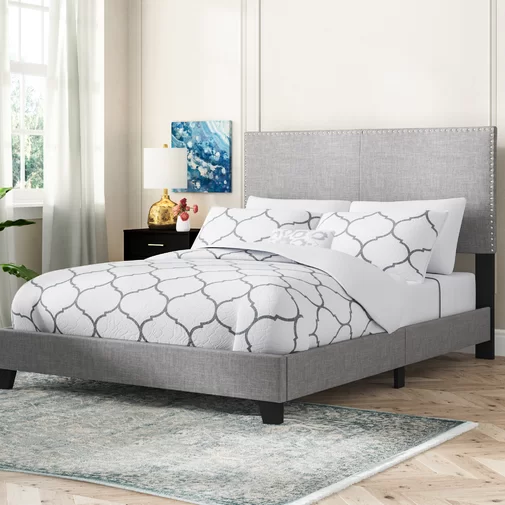 Templeton Upholstered Standard Bed Upholstered Panel Bed Upholstered Platform Bed Upholster
