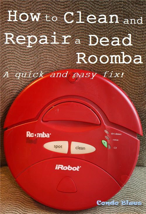 How to Clean and Replace a Roomba Battery | Tutorials from Condo