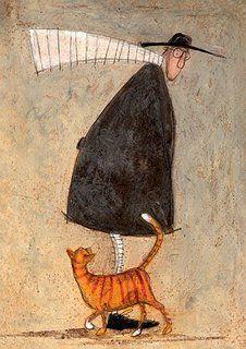 A cat called pumpkin pie sam toft open greeting card st985 art a cat called pumpkin pie sam toft open greeting card st985 m4hsunfo