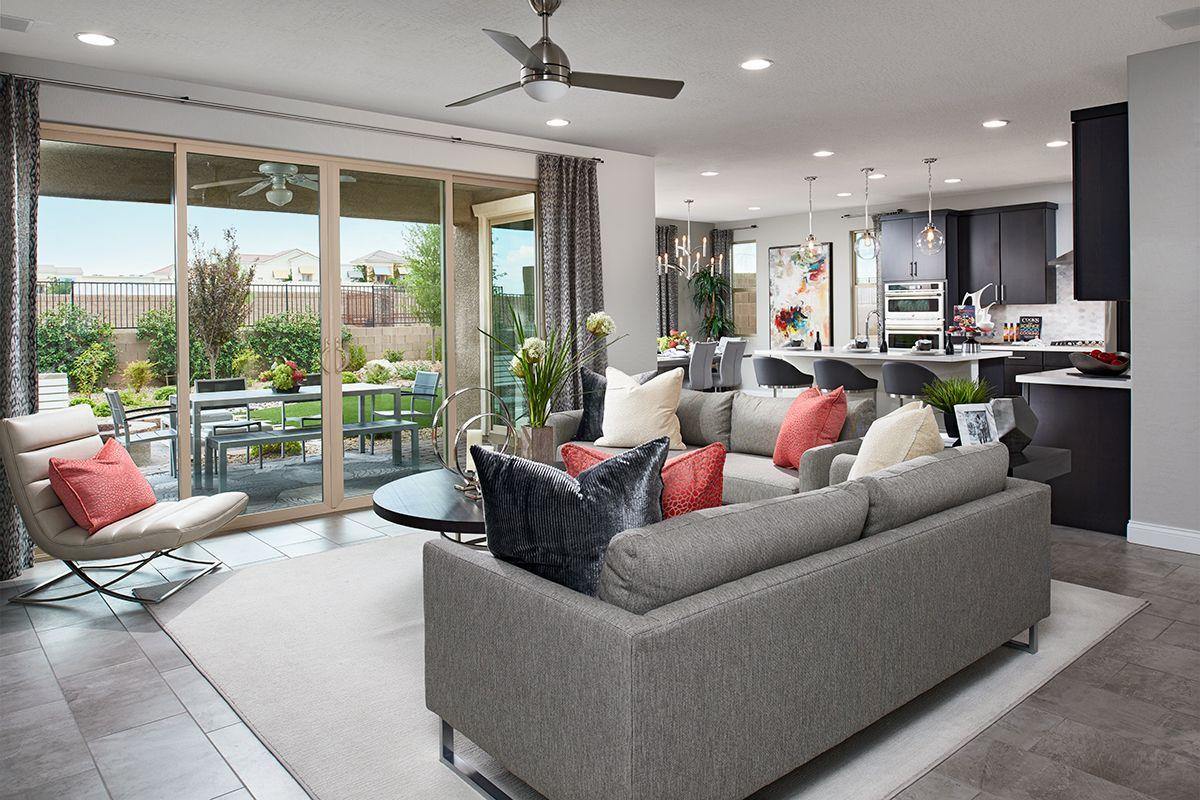 Seamless indoor/outdoor living   Beverly model home great ... on Seamless Indoor Outdoor Living id=52155