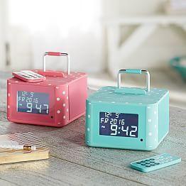 Unicorn Digital Alarm Clocks for Girls Transparent LED Night