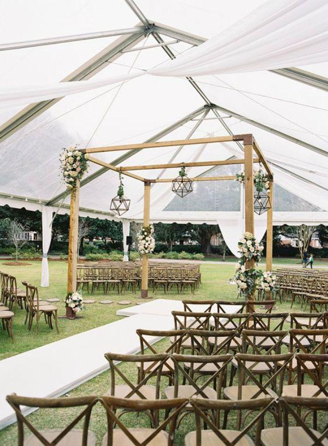 Tenten Buiten Bruiloft