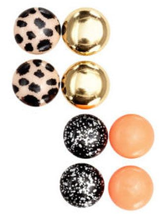 4-Pack Earrings from H