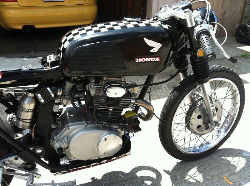 1972 Honda Cb175 Cafe Racer For