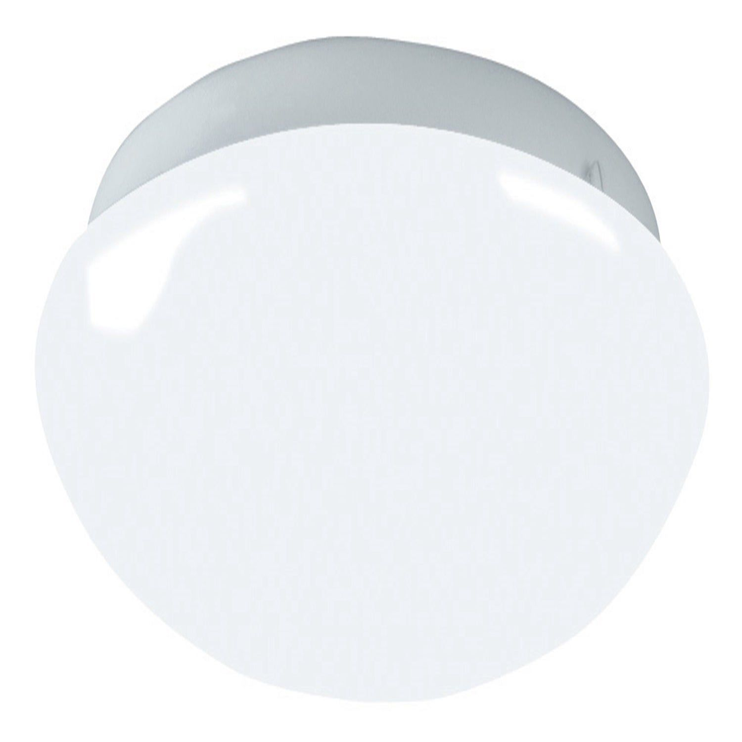 Afx Camden 11 Inch White Led 3000k Flush Mount White Acrylic Shade Led Flush Mount White Lead White Acrylics