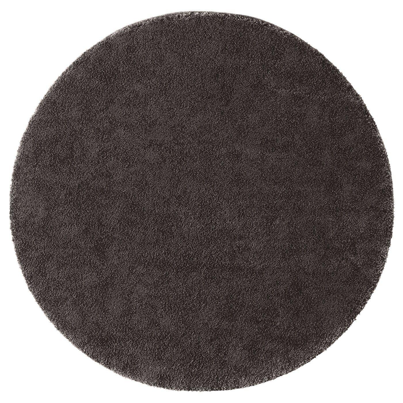Best Stoense Rug Low Pile Dark Gray 4 3 Rugs Round 400 x 300