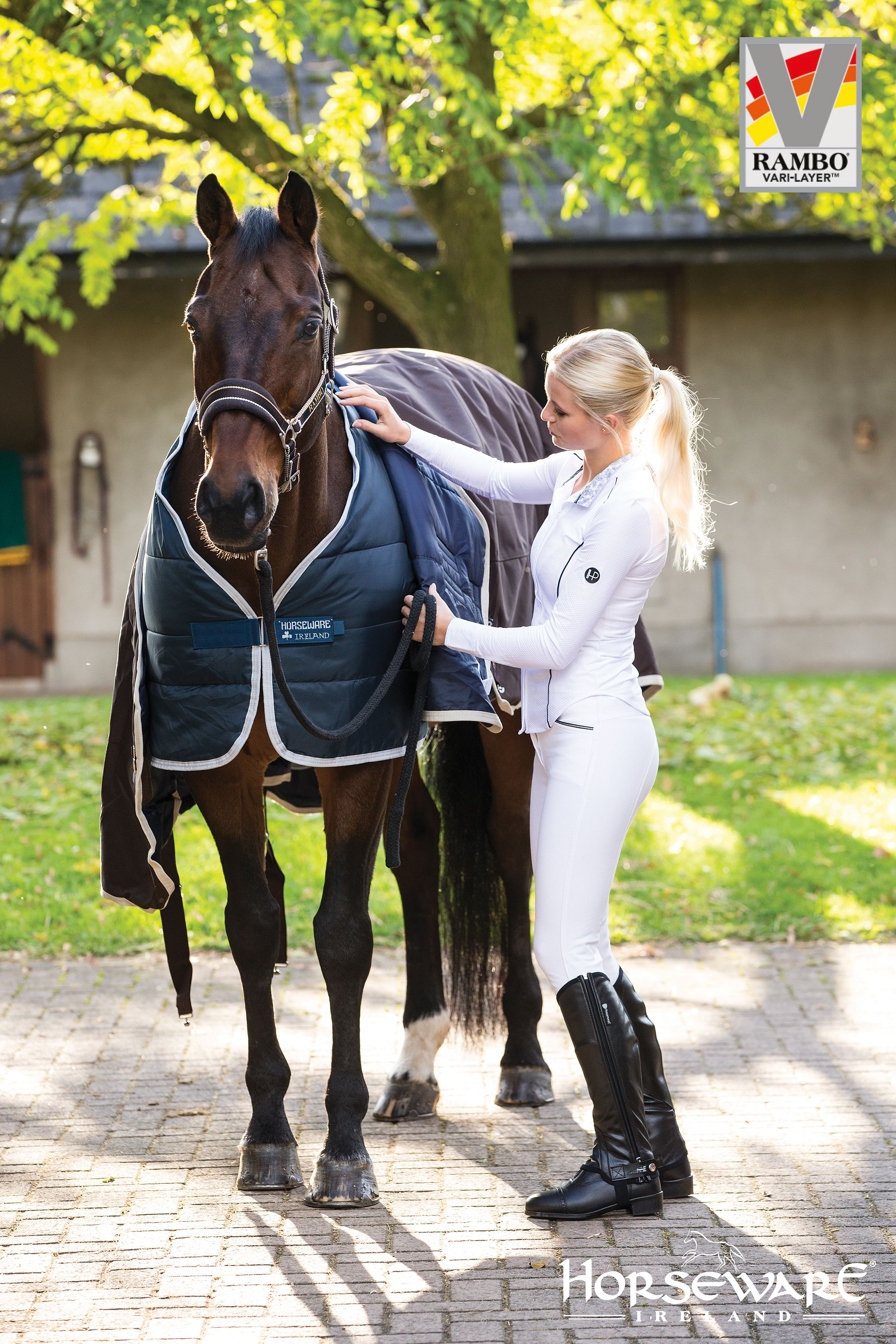 Horseware Collection S/S16: Horseware Vari-Layer Liner. Visit www.horseware.com to find your nearest stockist.