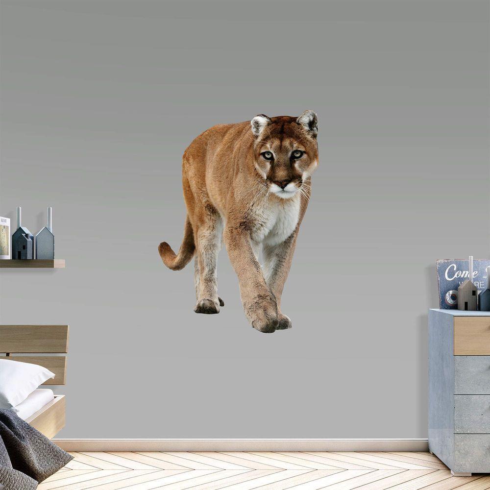 Generic Mountain Lion RealBig Animals Fathead