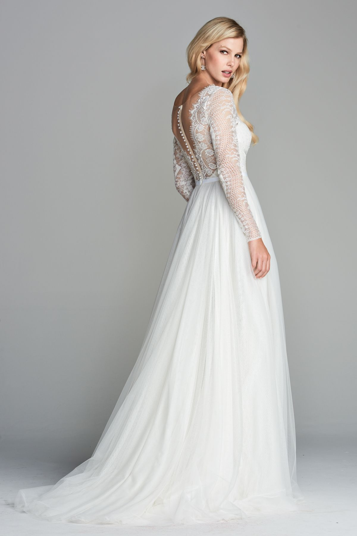 Watters 2018 Nahara gown. Soft,feminine and beautiful. V front and V ...