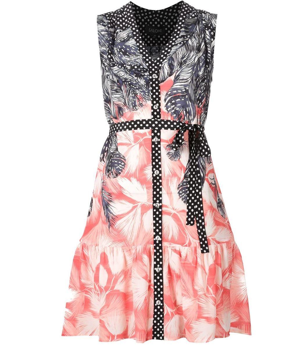 Saloni Tilly Print Dress