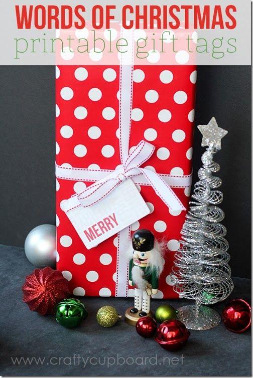 Lots of cute Christmas tag printables Christmas Pinterest Best
