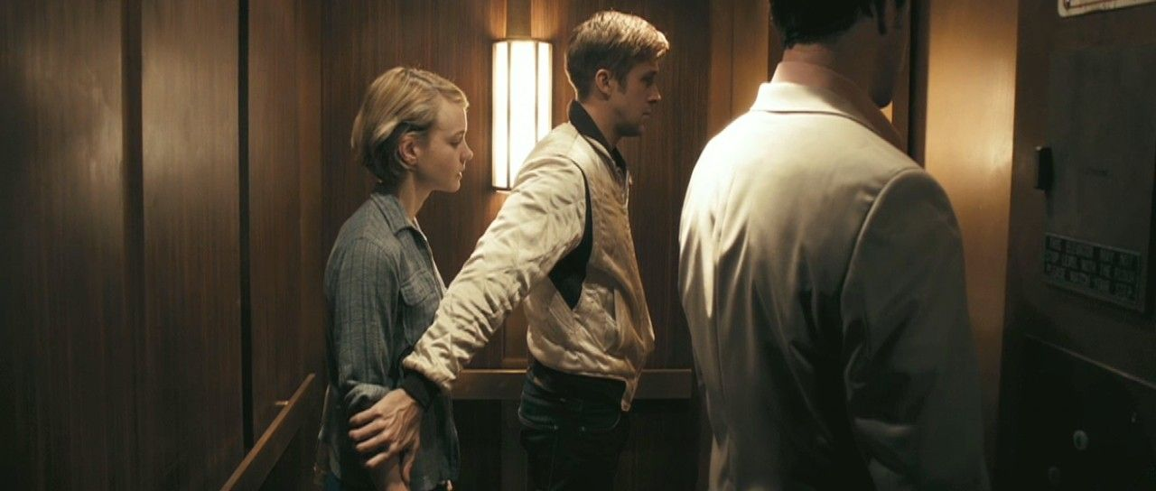 Ryan Gosling and Carey Mulligan in Drive.  One intense, charged scene.  Love this movie.