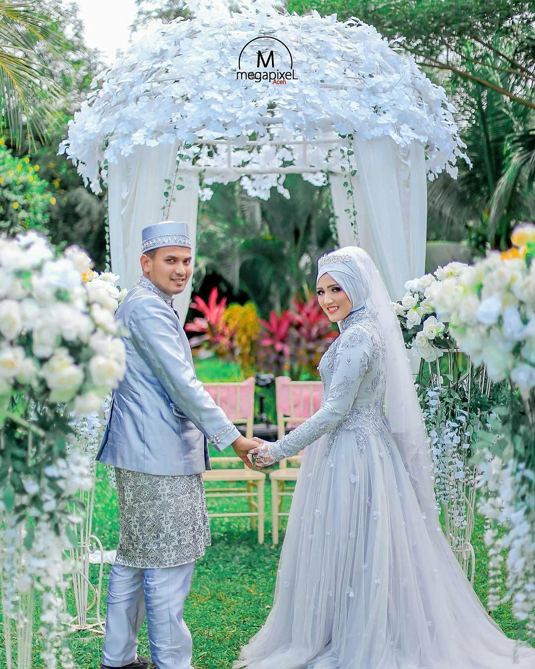 Pin by ImmaRahim on Hijab wedding | Pinterest | Muslim, Wedding and ...