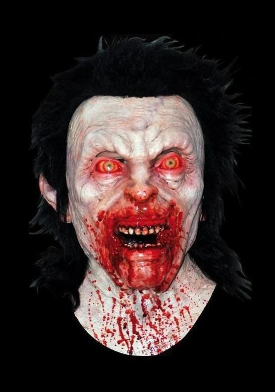 bloody anger scary halloween mask in masks super detailed full over the head halloween mask individually hand painted for the most realistic look - Bloody Halloween Masks
