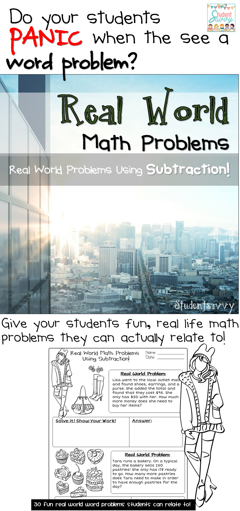 Subtraction | Pinterest | Word problems, Math and School