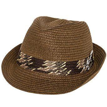 39e4feb2d Carlos Santana Men's Memento Pinch Front Fedora Hat w/ Guitar Pin ...