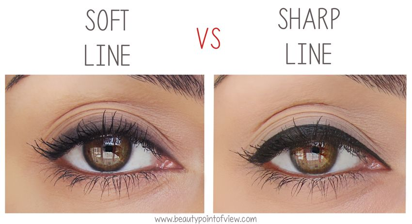 68a52298c9e Eyeliner - Soft Line vs Sharp Line - different eyeliner styles and products  used to get the look Beauty Point Of View #makeup #beauty #tutorial