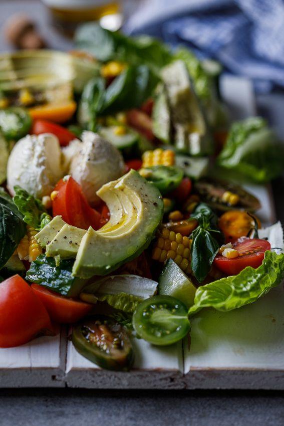 Farmers market salad with buffalo mozzarella Recipe Buffalo