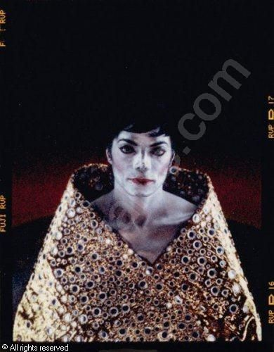 "Arno Bani, Michael Jackson ""A la cape d'or brodée"", photoshoot 1999"