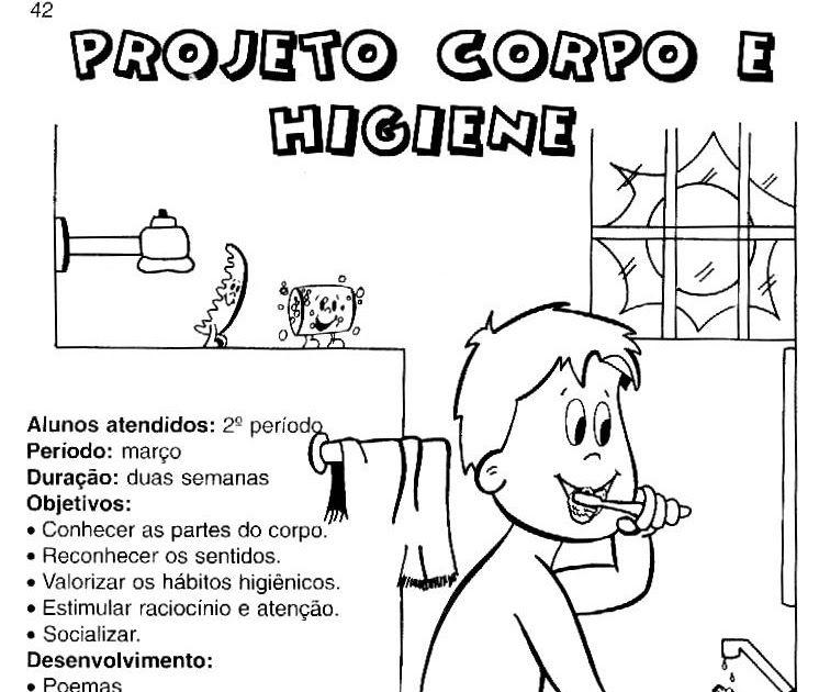 Objeitvos Projeto Higiene Com Imagens Planos De Aula Atividades