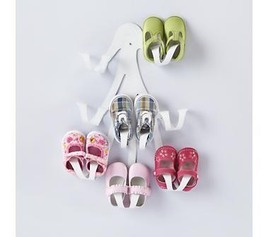 Kidsu0027 Storage: Kidsu0027 Shoe Wall Hook From Land Of Nod #genius Organizing