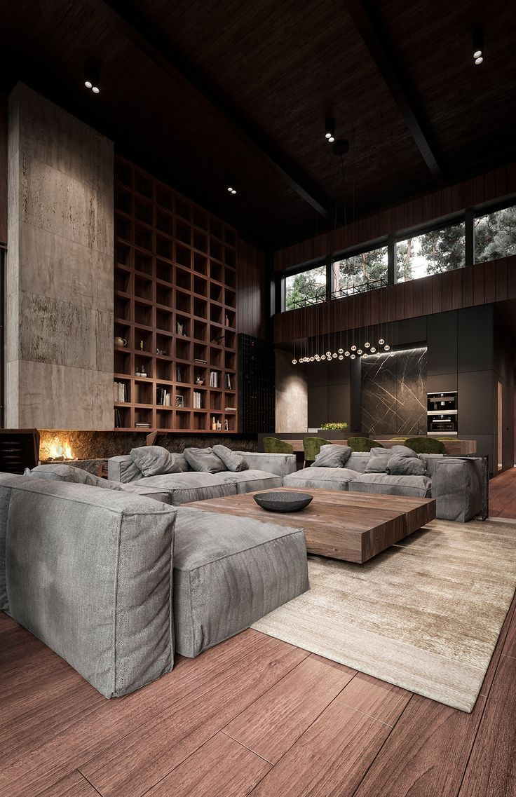 Rich Exquisite Modern Rustic Home Interior In 2020 Minimalism