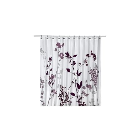 Reflections 72 X 84 Purple Fabric Shower Curtain Purple Shower