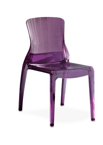 A Perfect Way To Jazz Up The Office Or Provide Guests With Stylish Seating,  This Eco Friendly Side Chair Features A Chic Purple Finish.