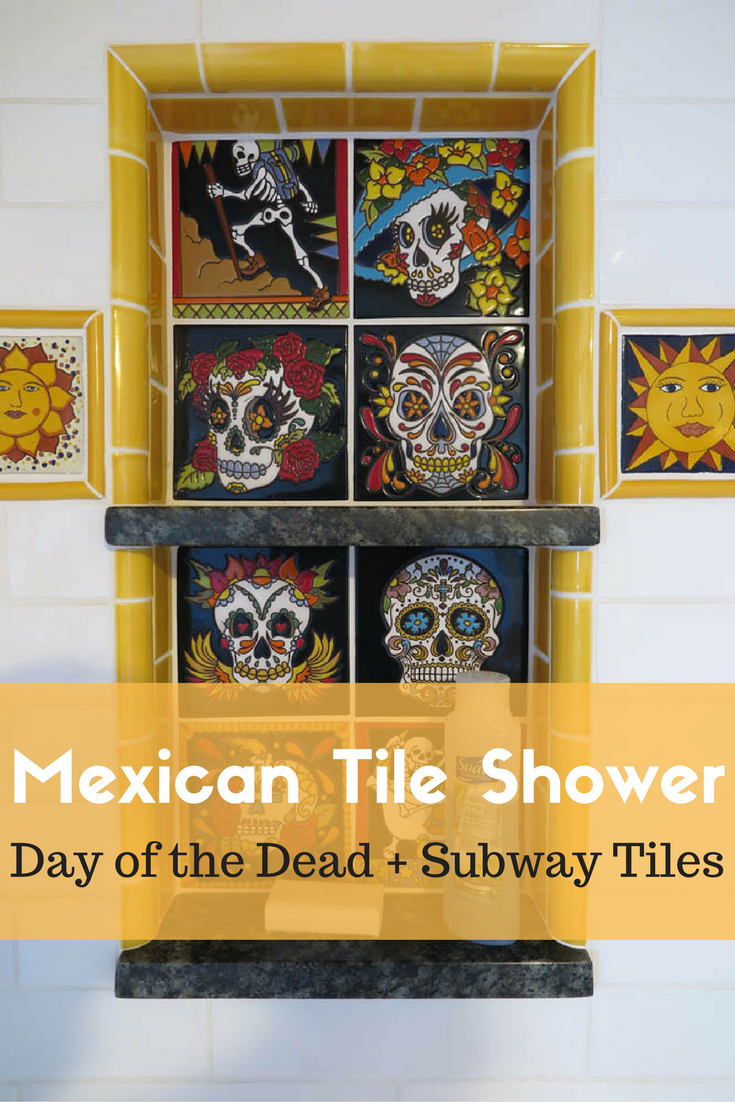 mexican tile bathroom remodel shower