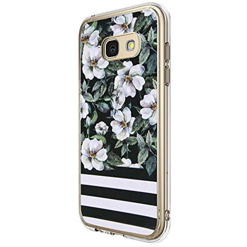 16jessie Hulle Kompatibel Samsung Galaxy A5 2017 Hullen Galaxy A3 2017 Schutzhulle Durchsichtig Silikon Handyhulle Clear Phone Phone Cases Electronic Products