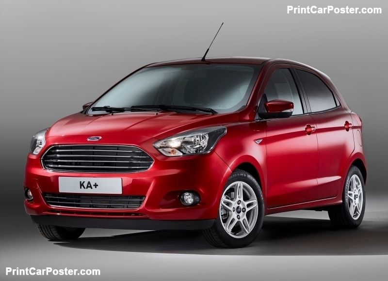 Ford Ka Plus 2017 Poster Id 1286124 New Cars Car Ford Ford