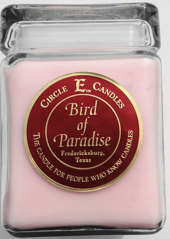BIRD OF PARADISE CIRCLE E CANDLE 28 oz