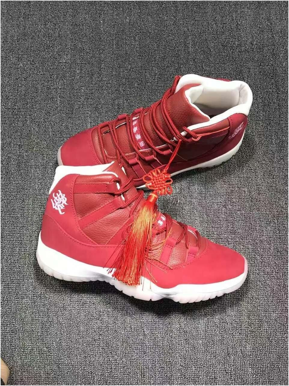 f6f4be30e73a Authentic Air Jordan 11 Chinese knot8