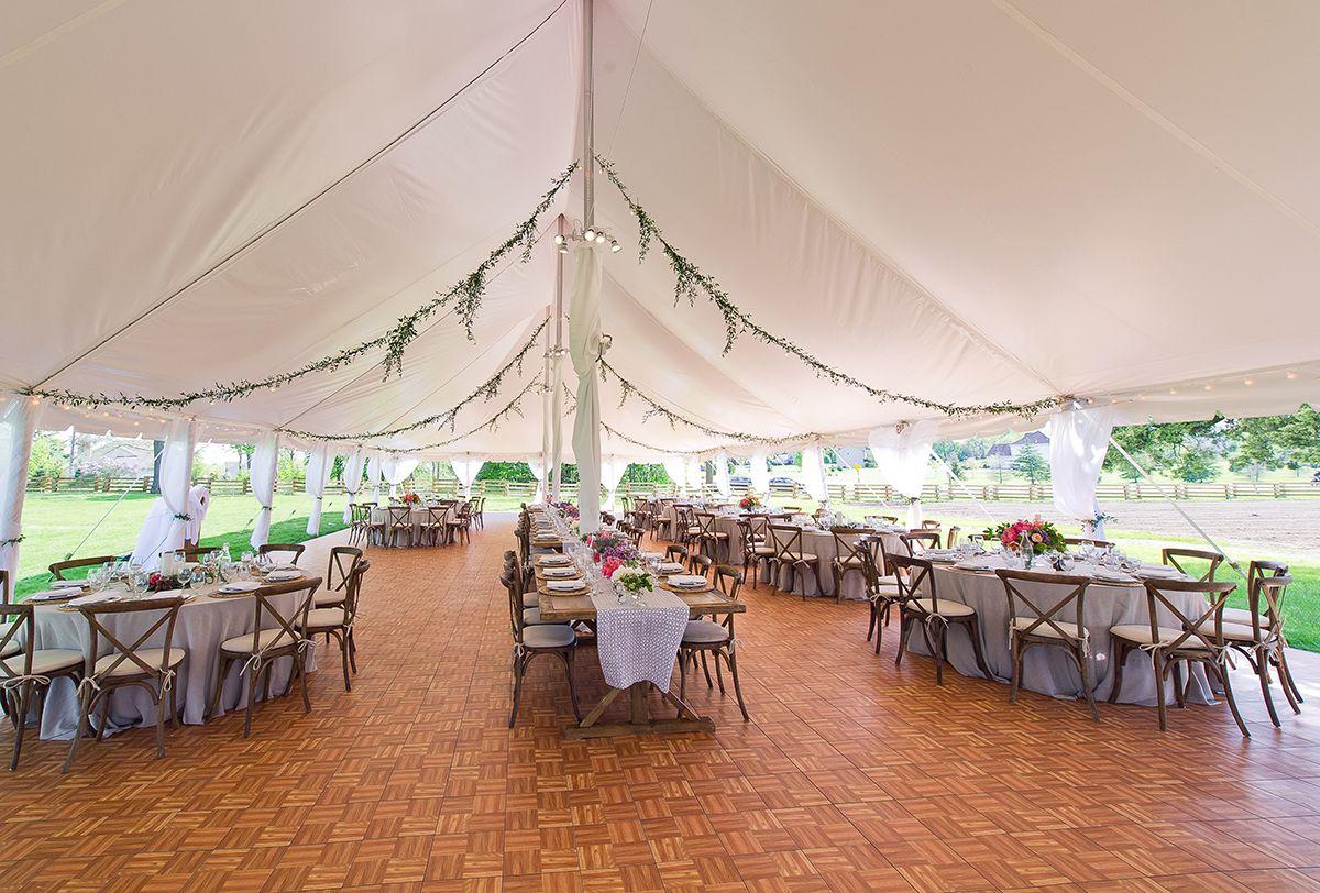 Zingerman's Cornman Farms Tent Pavilion in Dexter, MI