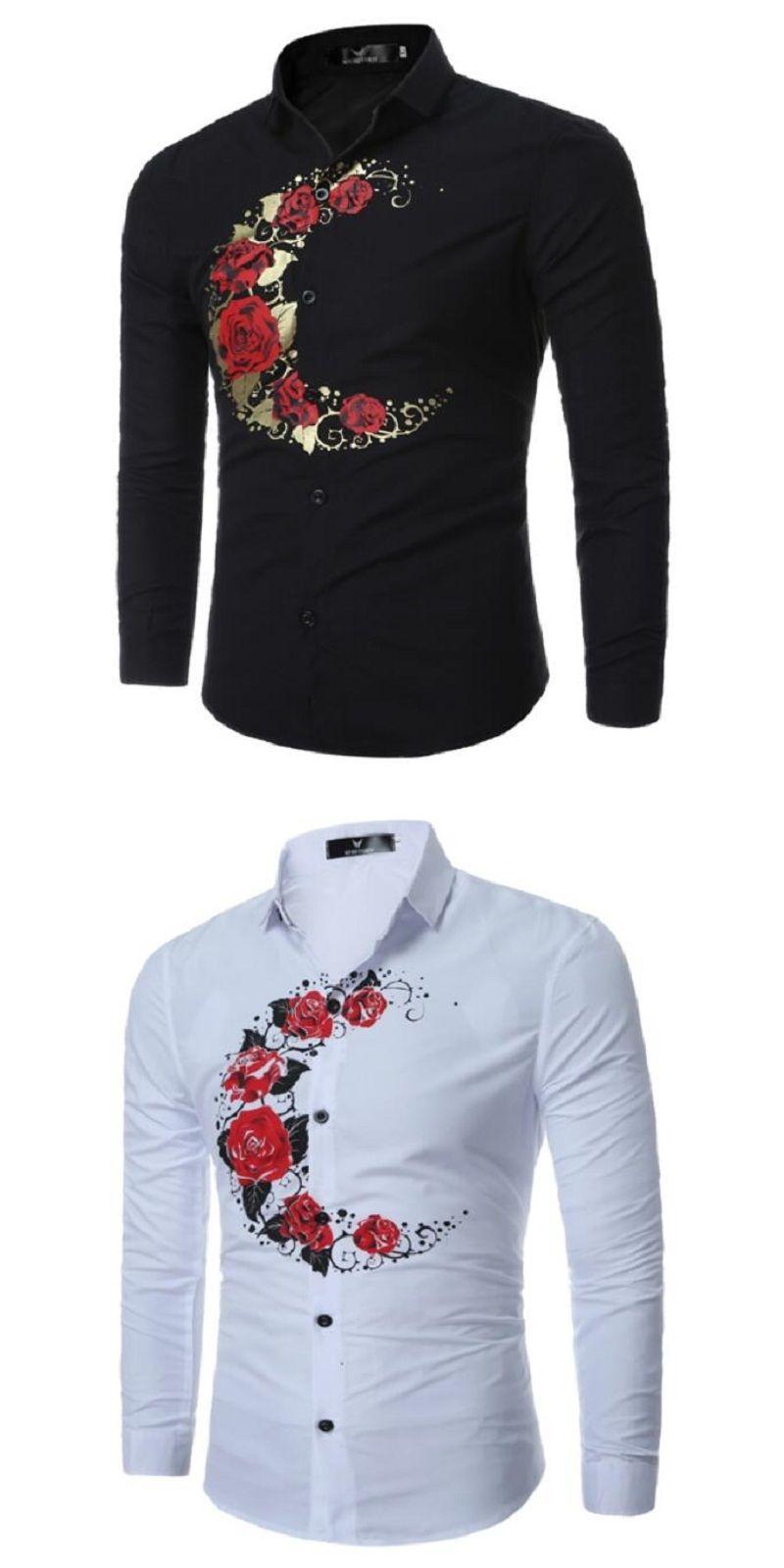Long Sleeve Shirt Men 2017 Autumn New Fashion Designer High Quality